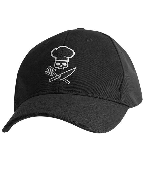 chef works cool vent baseball cap caps skull tools black le