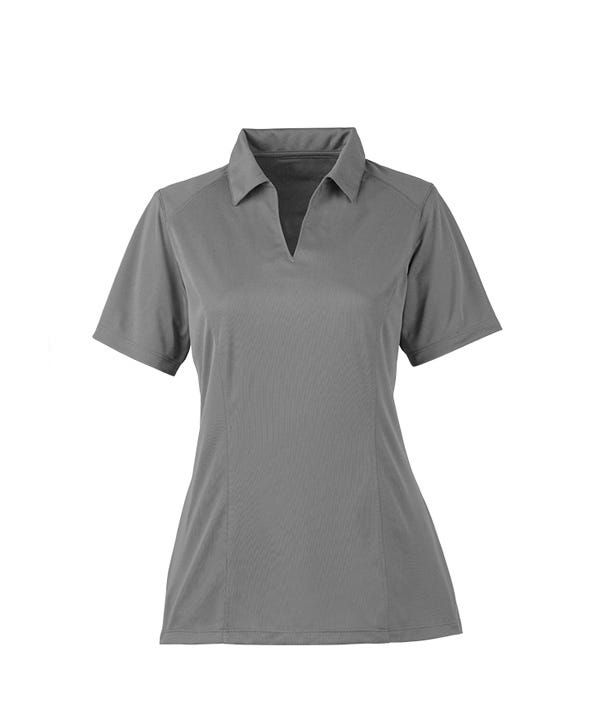 Women's Self-Fabric Collar Polo